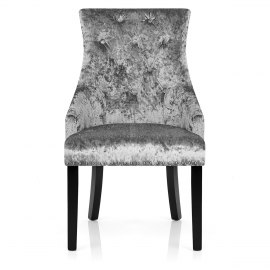 Cheltenham Dining Chair Grey Velvet