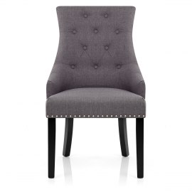 Cheltenham Dining Chair Charcoal Fabric