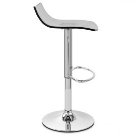 Crystal Bar Stool Smoked