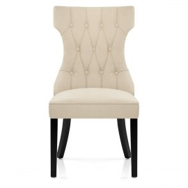 Lawson Dining Chair Cream Fabric