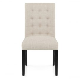 Thornton Dining Chair Cream Fabric