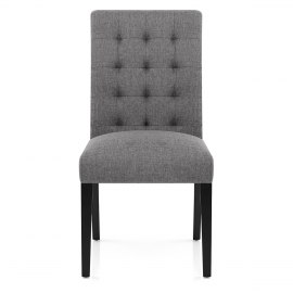 Thornton Dining Chair Grey Fabric