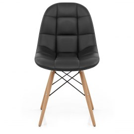 Moda Wooden Chair Black