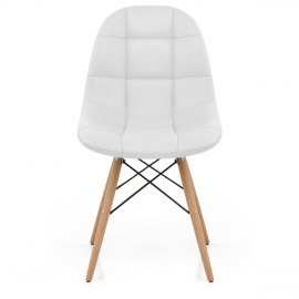 Moda Wooden Chair White