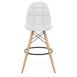 Moda Padded Stool White