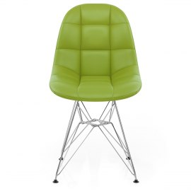 Moda Chrome Chair Green