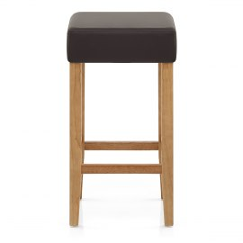 Oliver Oak Bar Stool Brown