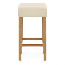 Oliver Oak Bar Stool Cream