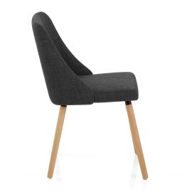 Appleby Dining Chair Charcoal Fabric