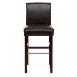 Purnell Walnut Stool Brown
