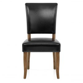 Lincoln Oak Chair Black