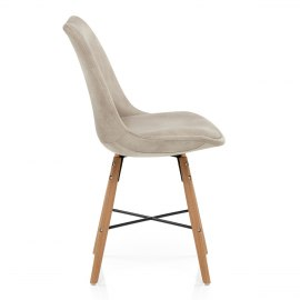 Ski Dining Chair Antique Cream