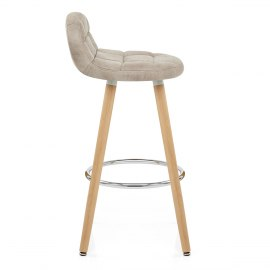 Sole Wooden Stool Antique Cream