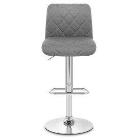 Liberty Bar Stool Grey Fabric