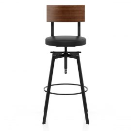 Urban Industrial Stool Black