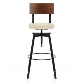 Urban Industrial Stool Cream