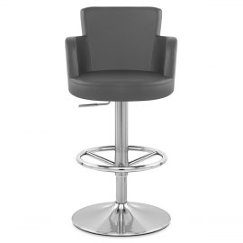 Chateau Brushed Bar Stool Grey