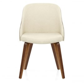 Fusion Walnut Chair Cream