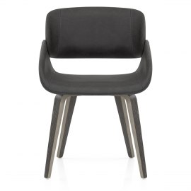 Flint Wooden Chair Charcoal