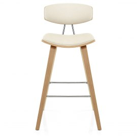 Henley Oak Stool Cream