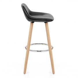 Jazz Wooden Stool Black