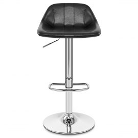 Hype Gas Lift Stool Black