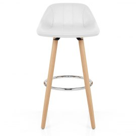 Jazz Wooden Stool White