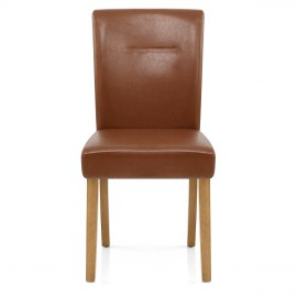 Camborne Dining Chair Brown
