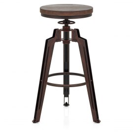 Trio Stool Antique Copper