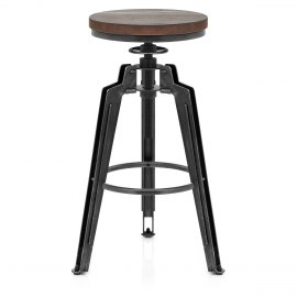 Trio Stool Gunmetal