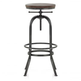 High Machinist Stool Gunmetal