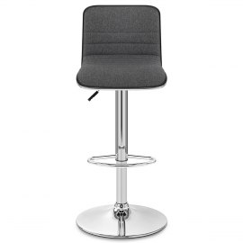 Pacific Bar Stool Grey Fabric