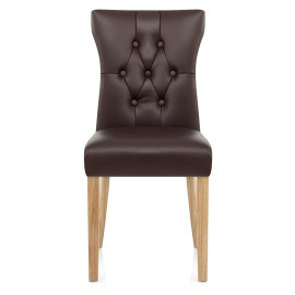 Bradbury Oak Dining Chair Brown
