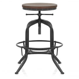 Hub Industrial Stool Gunmetal