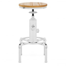 Hydrant Stool Antique White