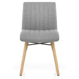Zoe Dining Chair Grey Fabric