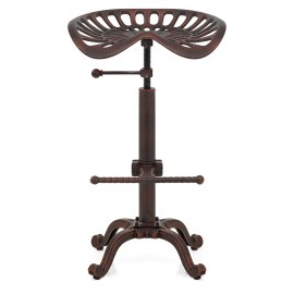 Harvester Stool Antique Copper