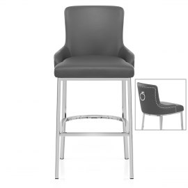 Bliss Bar Stool Grey