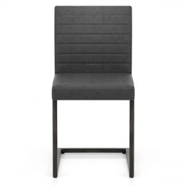 Solo Dining Chair Antique Charcoal