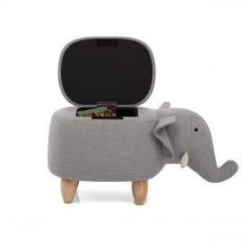 Elephant Children's Storage Stool