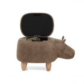 Hippo Children's Storage Stool