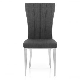 Gianni Dining Chair Charcoal Fabric