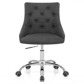 Sofia Office Chair Charcoal Fabric
