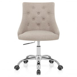 Sofia Office Chair Tweed Fabric