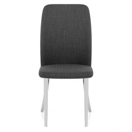 Radley Dining Chair Charcoal Fabric