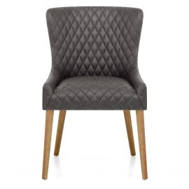 City Oak Chair Grey