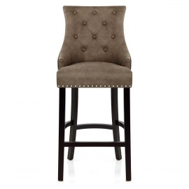 Ascot Bar Stool Antique Brown