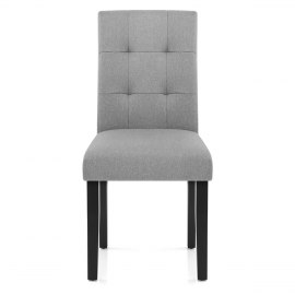 Torino Dining Chair Grey Fabric