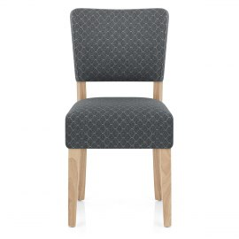 Dorchester Dining Chair Grey Fabric