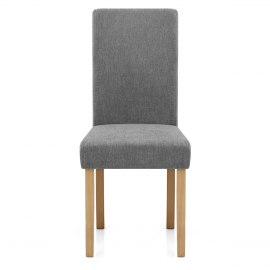 Jackson Dining Chair Grey Fabric